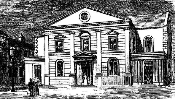 1790 &#8211; Meeting-House, Rosemary Street, Belfast, Co. Antrim