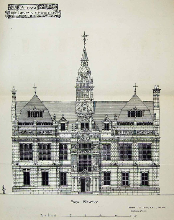 1882 – Proposal for Belfast Central Library
