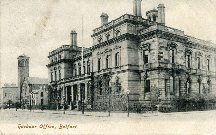 1854 &#8211; Harbour Commissioners&#8217; Office, Belfast, Co. Antrim