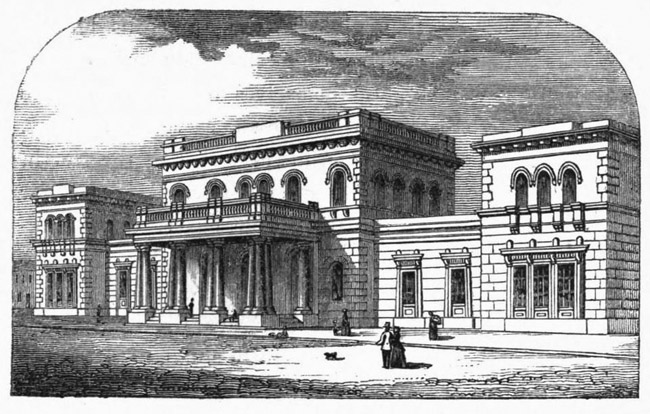 1848 – Great Victoria Street Railway Station, Belfast