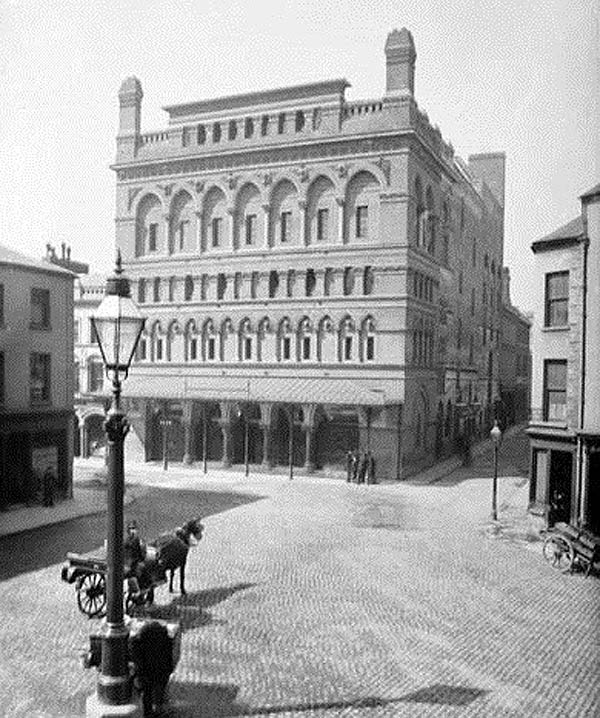 1881 – Theatre Royal, Arthur St., Belfast