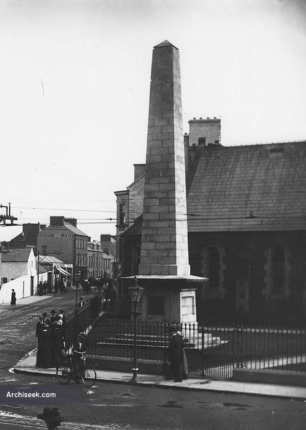 1859 –  Adam Clarke Memorial Obelisk, Portrush, Co. Antrim