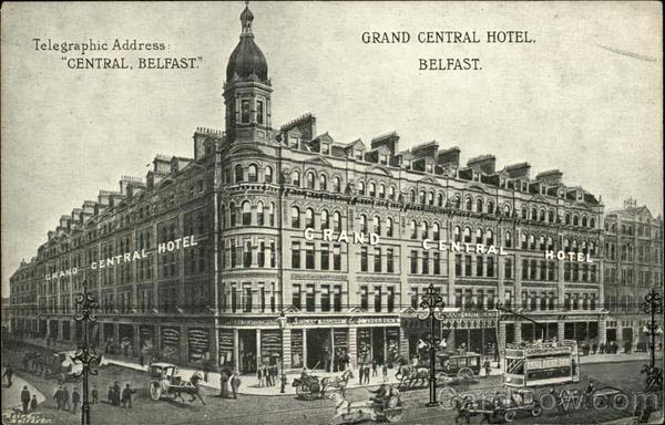 1892 – Former Grand Central Hotel, Royal Avenue, Belfast, Co. Antrim