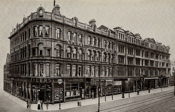1884 – Royal Avenue Hotel, Belfast