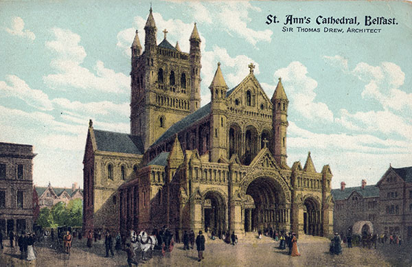1898 – Uncompleted Design for St. Ann's  Cathedral, Belfast