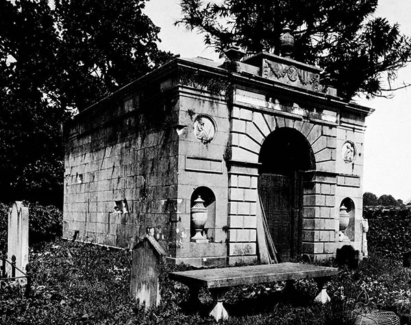 1789 – Templetown Mausoleum, Castle Upton, Co. Antrim