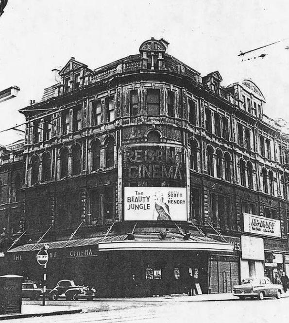 1882 – Garfield Chambers & Regent Cinema, Royal Avenue, Belfast