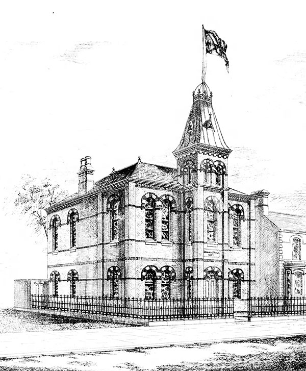 1887 – Ballynafeigh Orange Hall, Ormeau Rd., Belfast, Co. Antrim