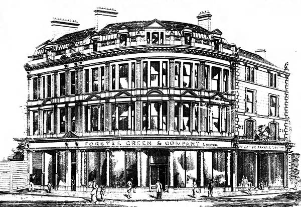 1884 – Forster Green & Co., Royal Avenue, Belfast