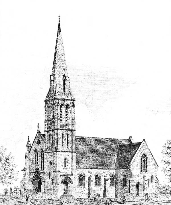 1881 – Cunningham Memorial Presbyterian Church, Cullybackey, Co. Antrim