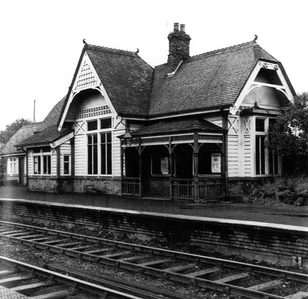 1896 – Railway Station, Trooperslane, Co. Antrim