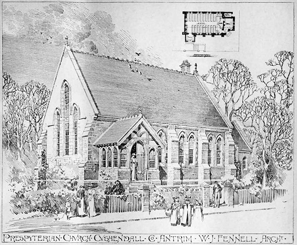 1899 – Presbyterian Church, Cushendall, Co. Antrim