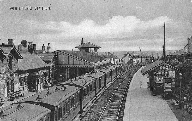 1877 – Railway Station, Whitehead, Co. Antrim