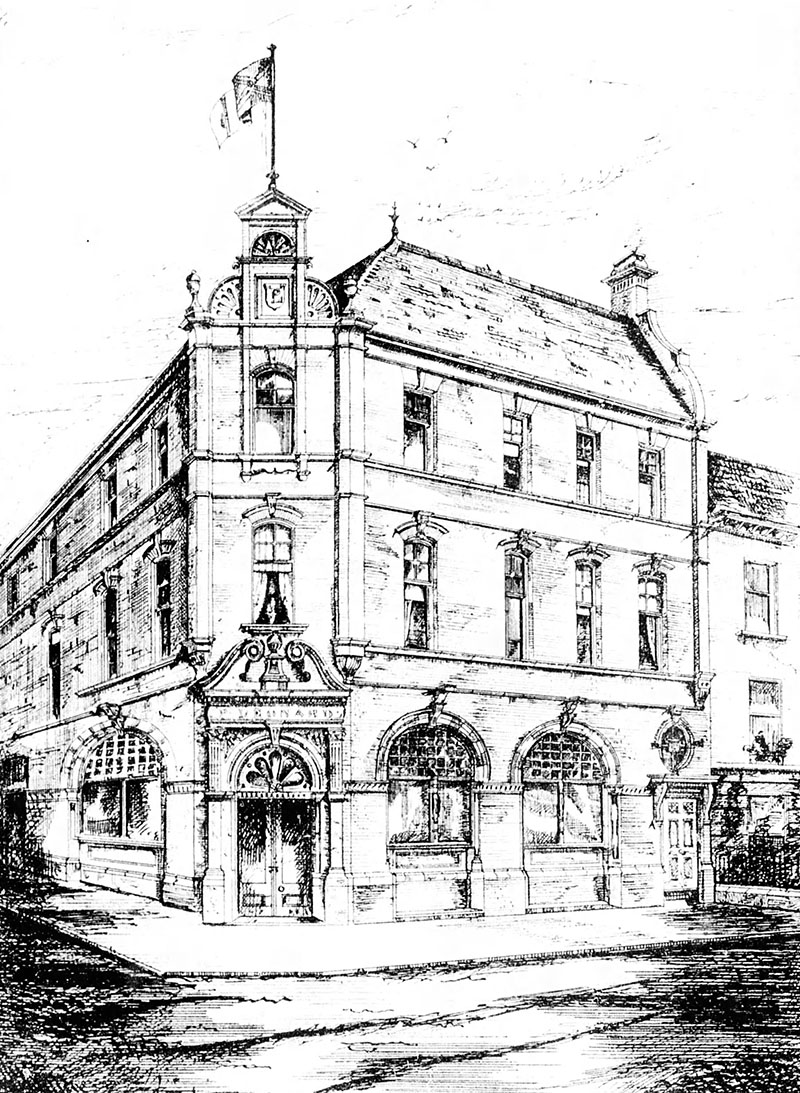 1884 – Leonard Wine Merchants, Antrim Rd., Belfast, Co. Antrim