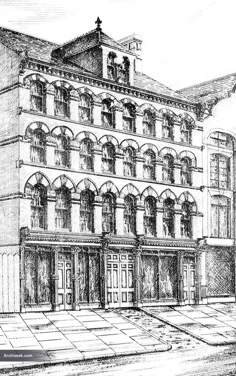 1881 – Ceylon Buildings, 64-66 Victoria St., Belfast