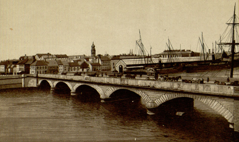 1843 – Queens Bridge, Belfast, Co. Antrim