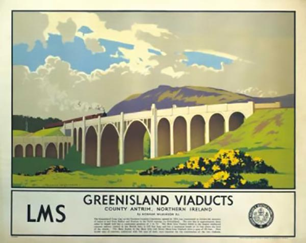 1933 – Bleach Green Viaducts, Whiteabbey, Co. Antrim