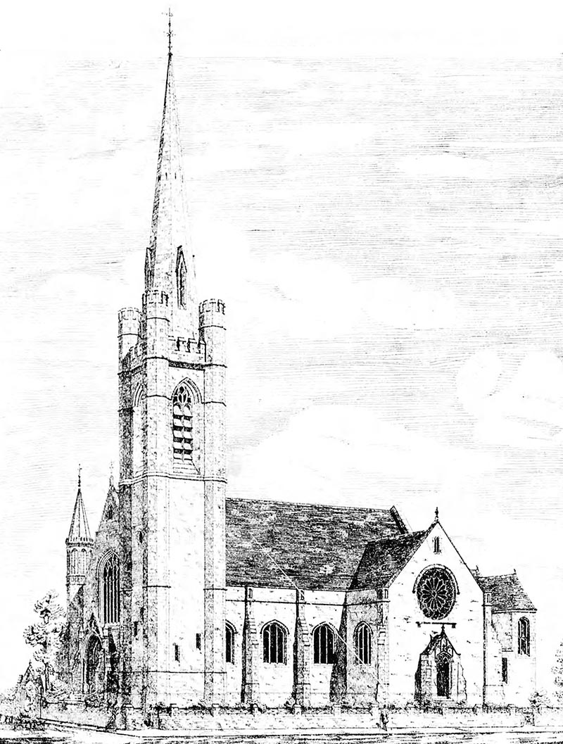 1887 – Presbyterian Church, Windsor, Belfast, Co. Antrim