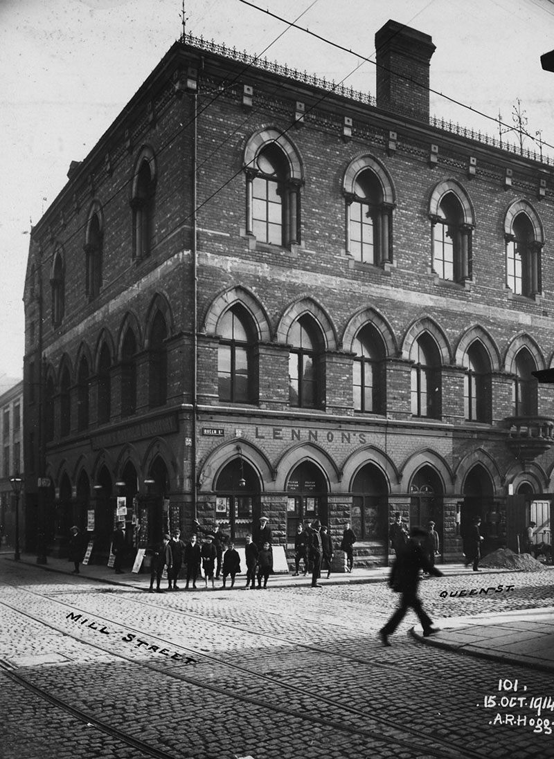 1870 – Working Men's Institute, Queen Street, Belfast