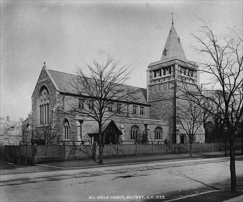1896 – All Souls Church, Elmwood Avenue, Belfast