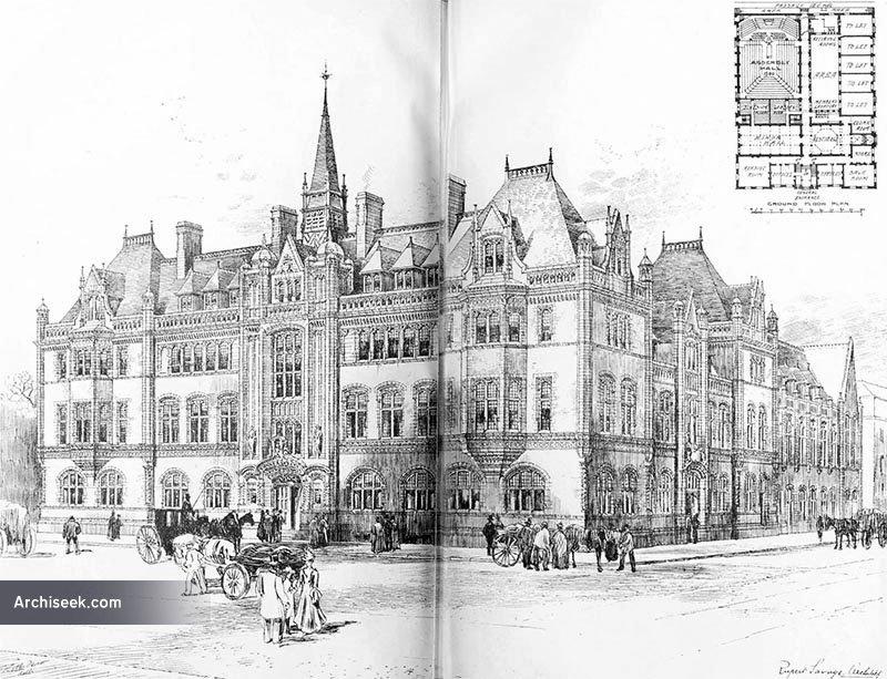 1900 – Unbuilt Design for Assembly Hall, Belfast
