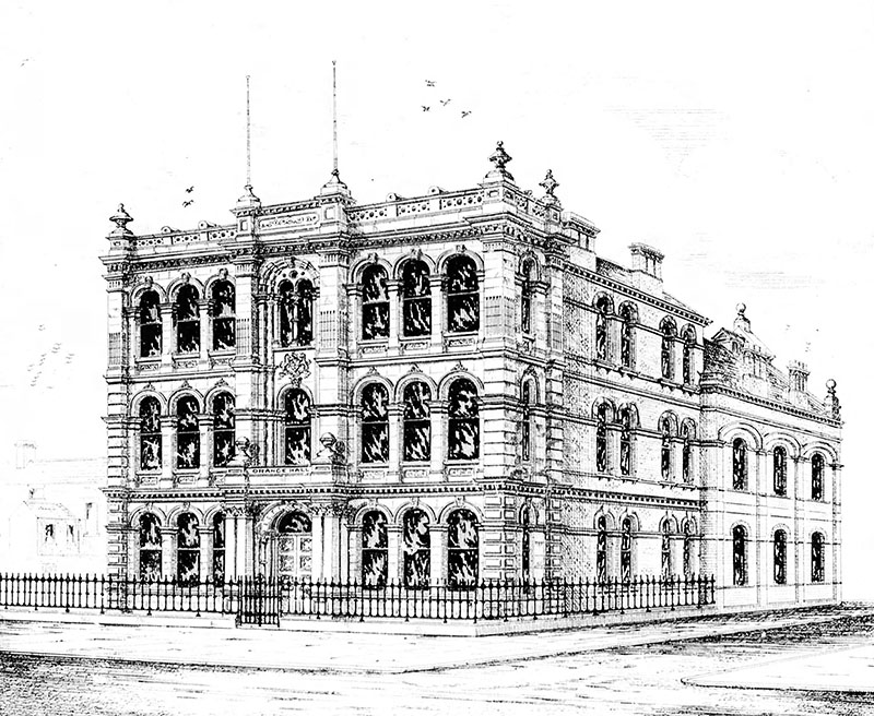 1885 – Orange Hall, Clifton St., Belfast