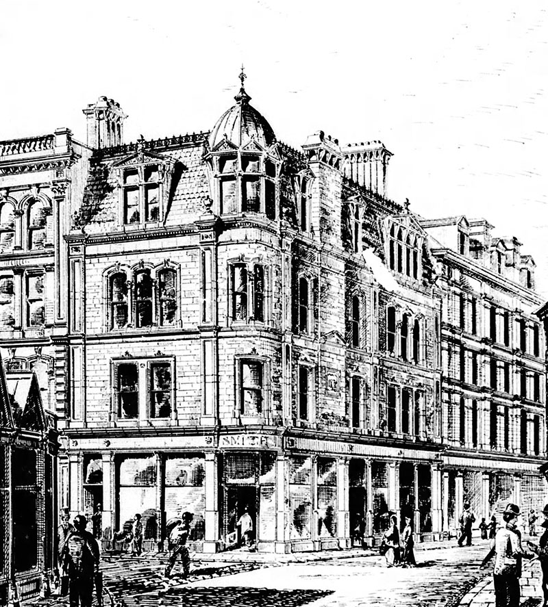 1878 – Business Premises, Lombard St., Belfast