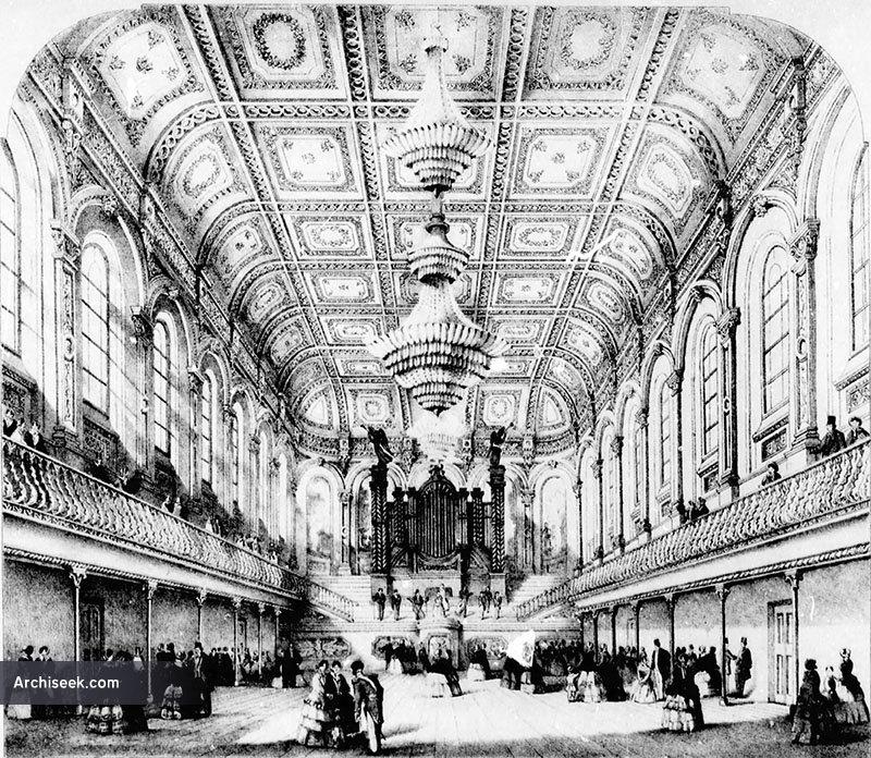 1862 – Ulster Hall, Belfast, Co. Antrim