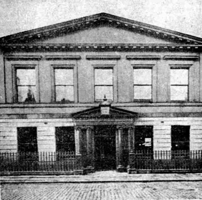 1829 – Belfast Savings' Bank, Belfast, Co. Antrim