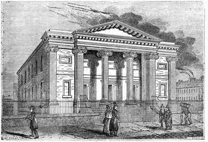 1828 – Presbyterian Meetinghouse, May Street, Belfast