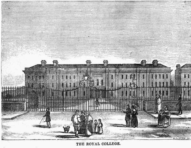 1814 – Royal Academical Institution, Belfast, Co. Antrim