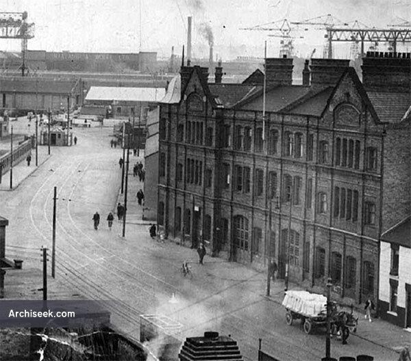 1895 – Whitla Street Fire Station, Belfast, Co. Antrim