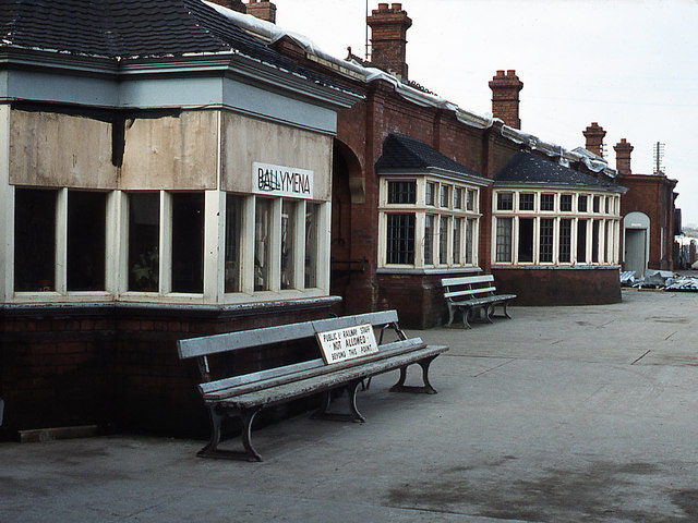 1904 railway station ballymena co antrim architecture of antrim lost buildings of