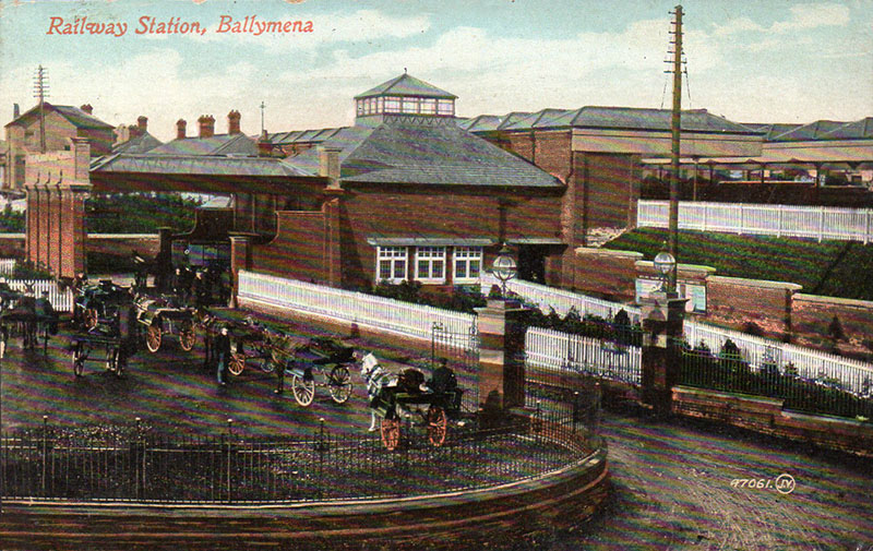1904 – Railway Station, Ballymena, Co. Antrim