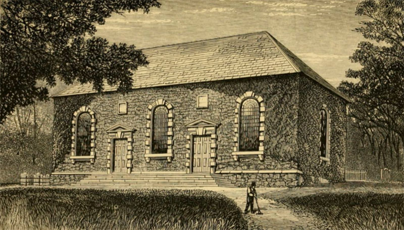 1779 – First Presbyterian Church, Dunmurry, Co. Antrim