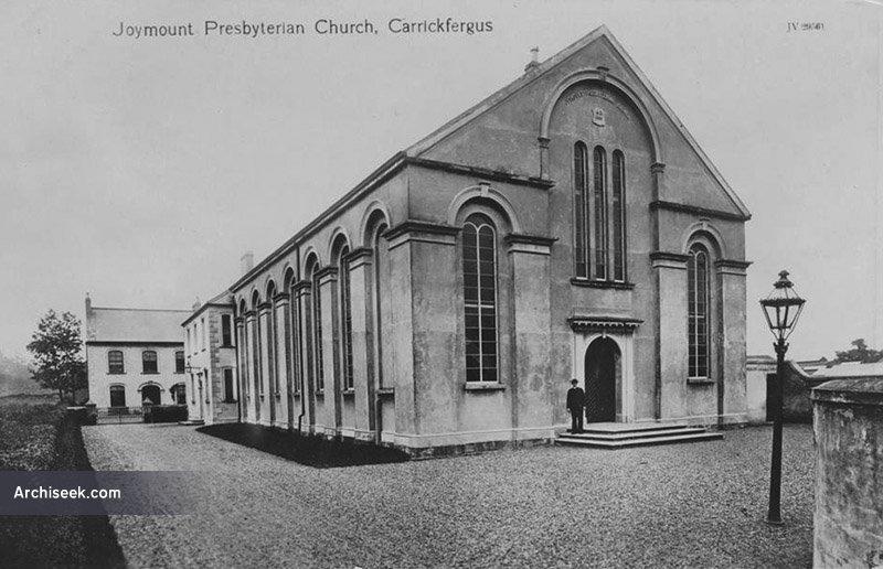 1856 – Joymount Presbyterian Church, Carrickfergus, Co. Antrim