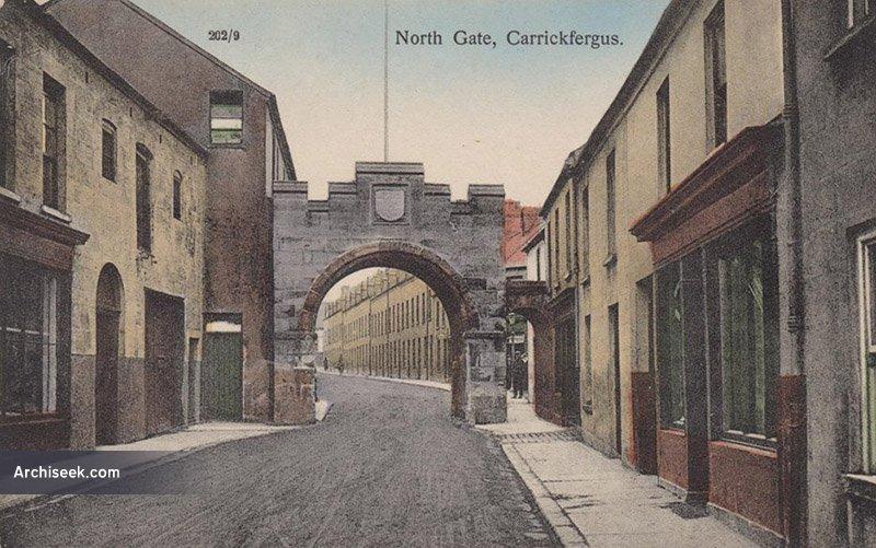 1611 – North Gate, Carrickfergus, Co. Antrim