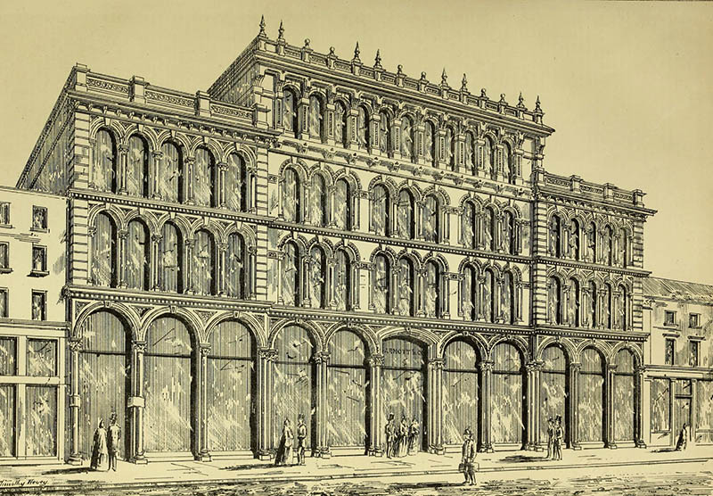 1866 – Arnott's Warehouse, Bridge St., Belfast