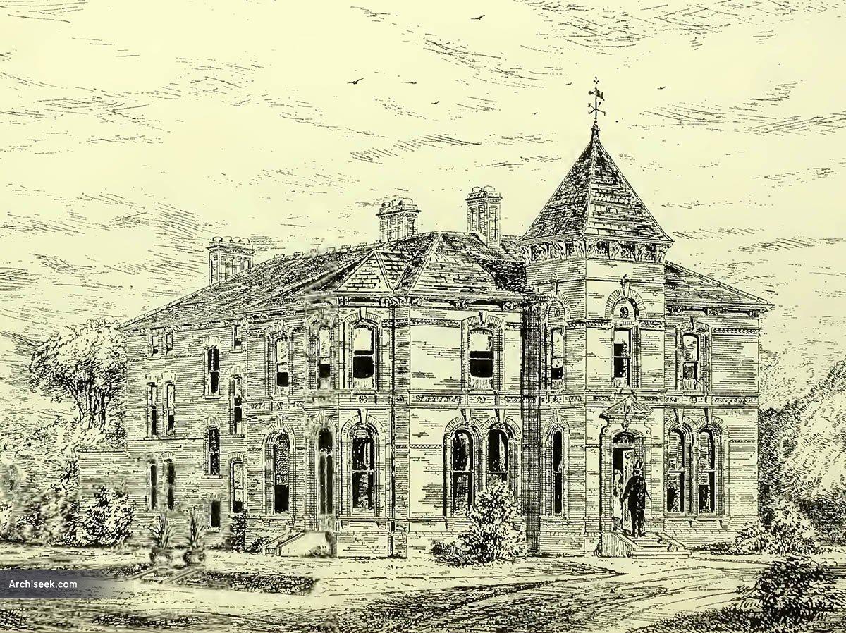 1879 – Glenmachan House,  Belfast, Co. Antrim