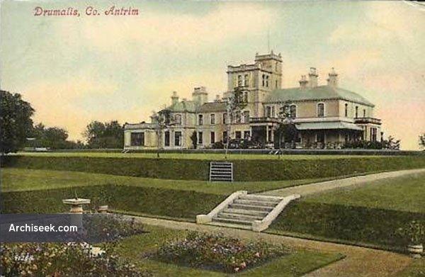 1890 – Drumalis House, Larne, Co. Antrim