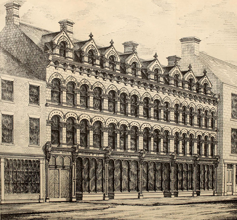 1879 – No.5-19 Church Lane, Belfast