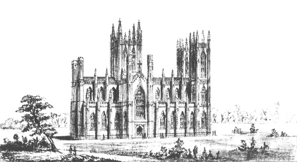 1840 – Design for St. Patrick's Cathedral, Armagh