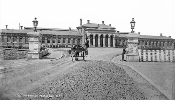 1862 &#8211; Railway Station, Portadown, Co. Armagh