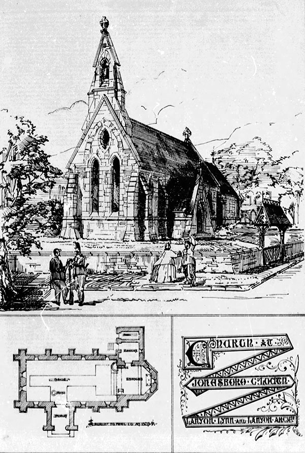 1866 – Church of Ireland, Jonesborough, Co. Armagh