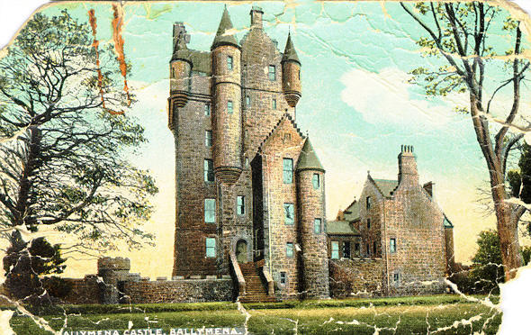 1887 &#8211; Ballymena Castle, Co. Antrim