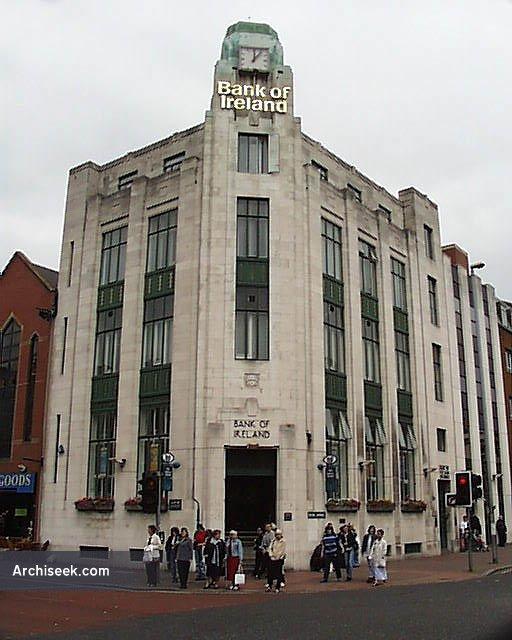 1928 – Former Bank of Ireland, Royal Avenue, Belfast