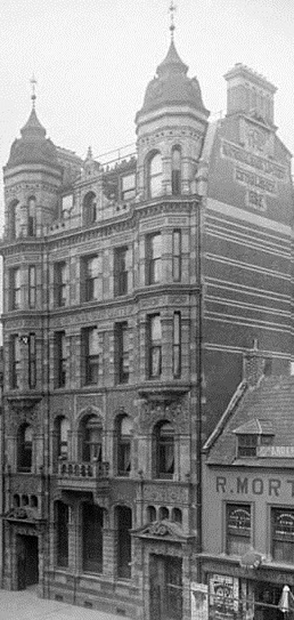 1897 – Former National Bank, 62-68 High Street, Belfast