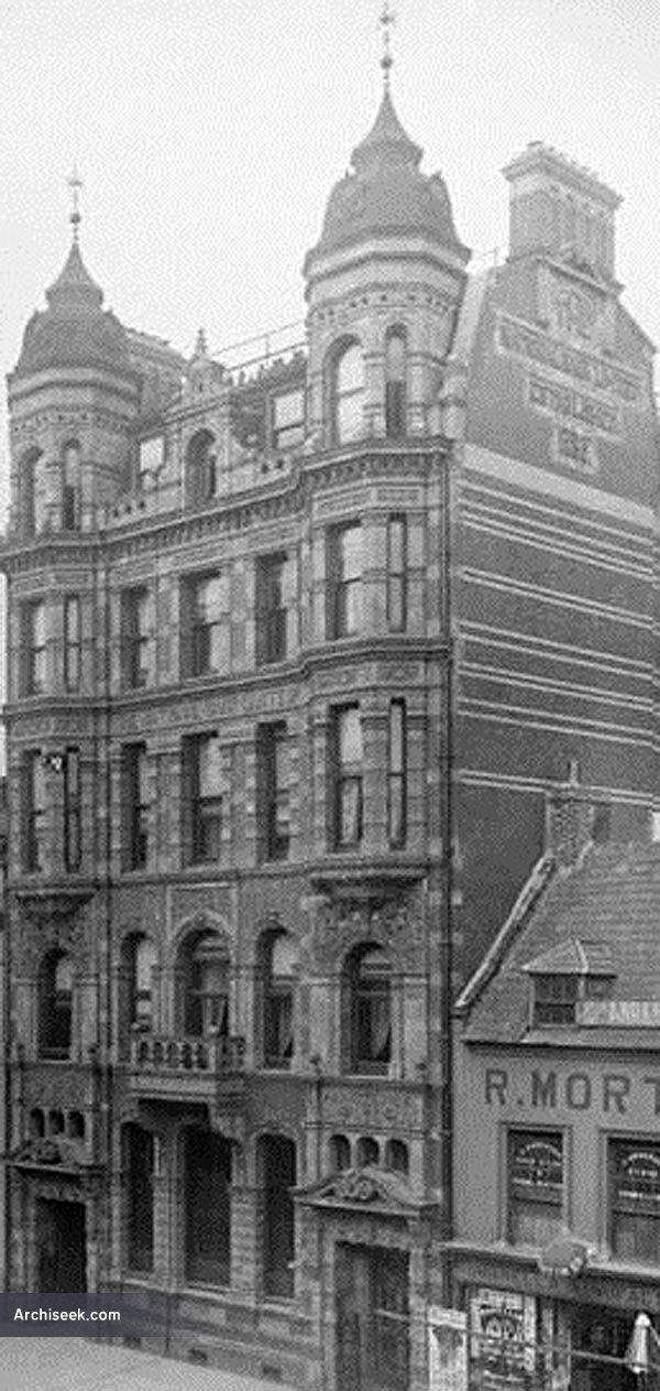1897 – Former National Bank, 62-68 High Street, Belfast