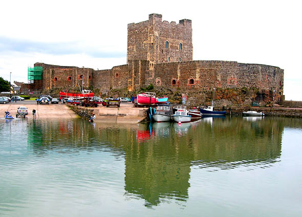 1180 – Carrickfergus Castle, Co. Antrim