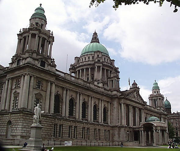 New UAHS book on Belfast City Hall